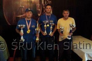 Ekipni prvaci lige ZŠRU Slatina 2014.